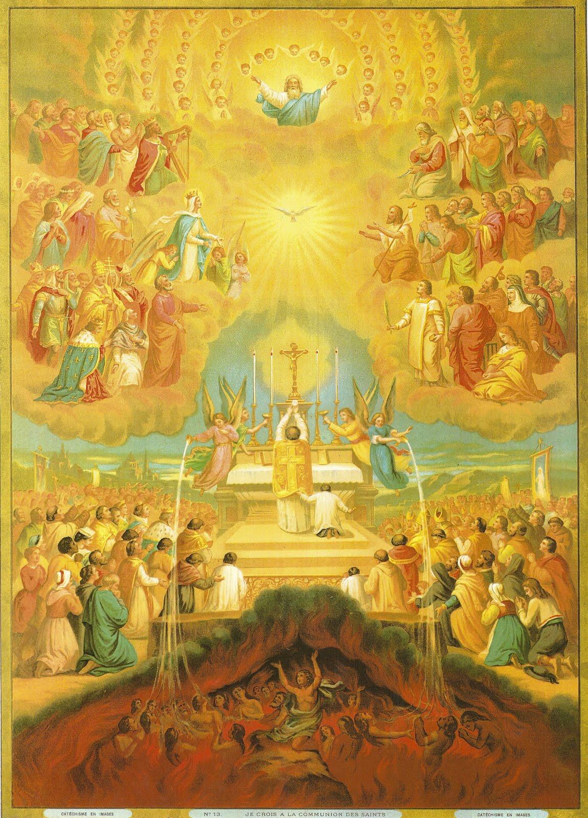 COV NTSIAB LUS NYOB HAUV ZAJ KUV NTSEEG Creed-14-communion-of-saints2