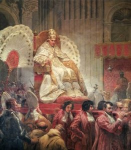papa_240240~Pope-Pius-VIII-in-St-Peter-s-on-the-Sedia-Gestatoria-