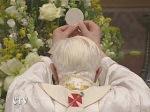 Pope Benedict XVI Mass Sistine Chapel