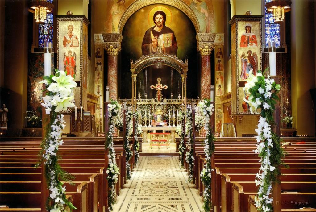 Beautiful Small Church Wedding Decorations Contemporary - Wedding ...