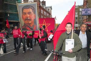 Stalinist march in Britain this year