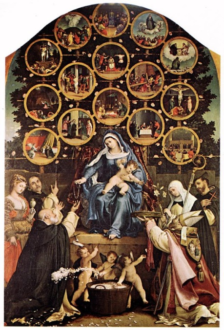 Rosary_Our Lady of_LOTTO, Lorenzo