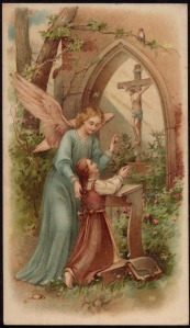 untitiled guardian angel child and cross