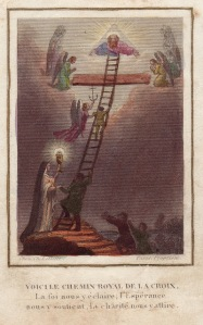 Here is the Royal Road of the Cross. Faith enlightens us, Hope supports us, Love draws us
