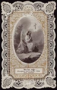 My good Angel teach me to pray to Jesus my Savior