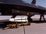YF-12A with AIM-47 missile