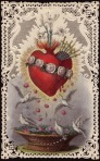 Doves and the Heart of Mary