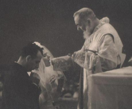 How awesome would it be to be married by Padre Pio!
