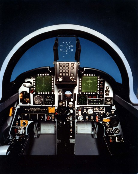 F-20_cockpit_mock-up