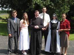 Fr. Walker, center