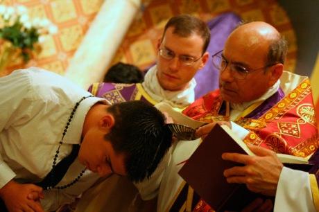Fr. Terra with Fr. Walker at rear