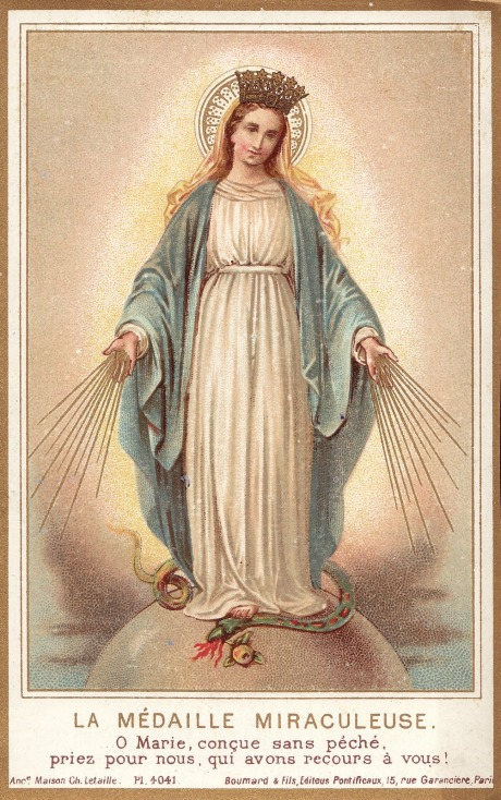 Miraculous Medal - Letaille-Boumard adj