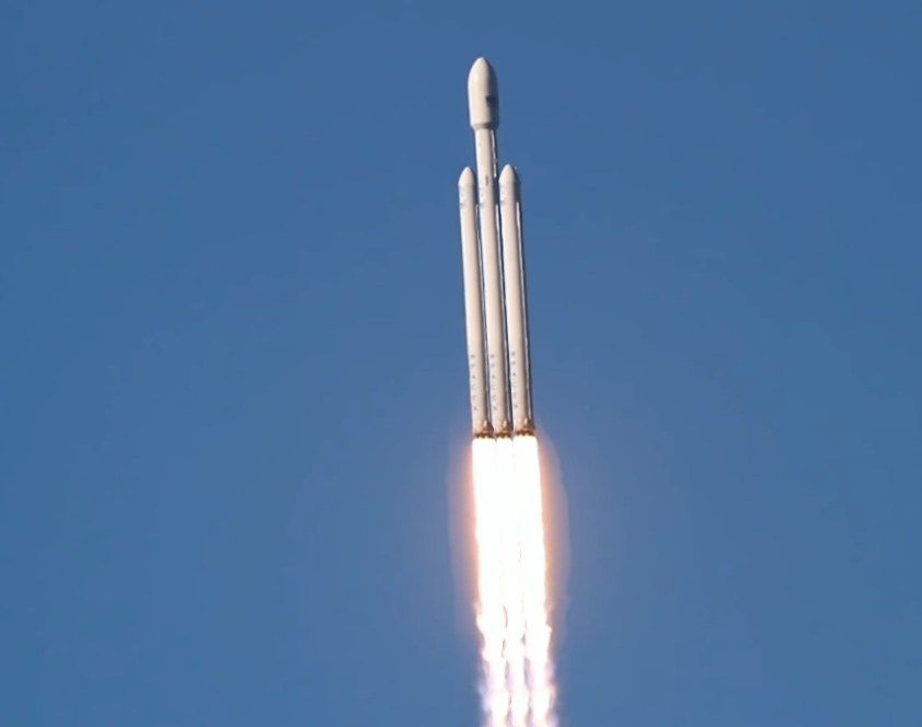 Falcon Heavy Launch - Pics about space