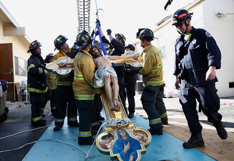 Beautiful Italian Crucifix miraculously survives church fire   A ...