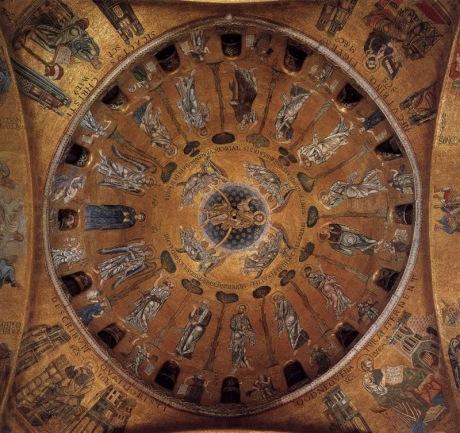 Ascension_Dome of_Basilica di San Marco, Venice
