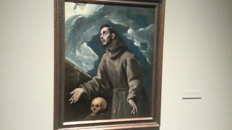 El Greco St. Francis receiving the stigmata