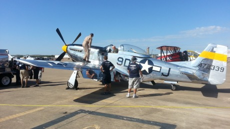 P-51D from Cavanaugh Flight Museum in Addison